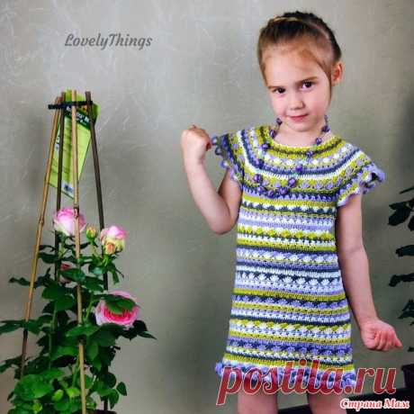 Dress based on Vanessa Montoro - Knitting - the Country of Mothers