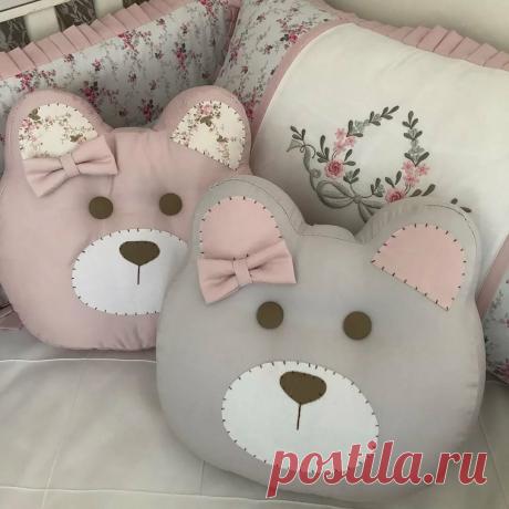 Уютные подушки-игрушки в детскую комнату! Они мало кого оставят равнодушными! | Юлия Жданова | Яндекс Дзен