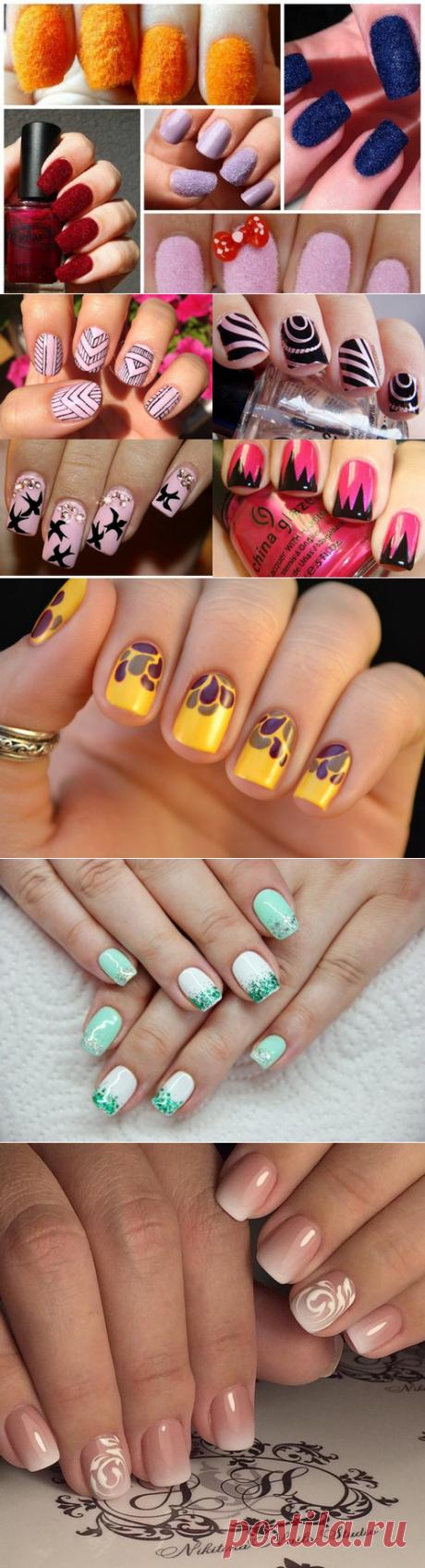 Самый красивый маникюр на короткие и длинные ногти - модные тренды, идеи, фото