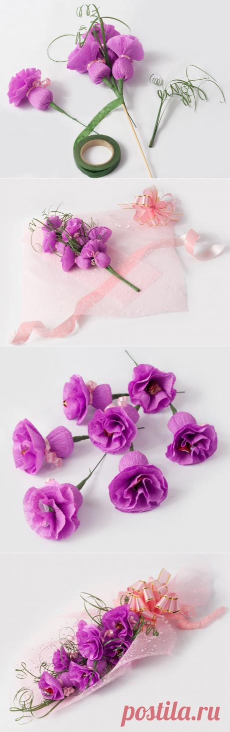 Букет из конфет своими руками — Сделай сам, идеи для творчества - DIY Ideas