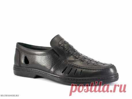 Полуботинки мужские Отико 2043, черный - мужская обувь, полуботинки. Купить обувь Otiko