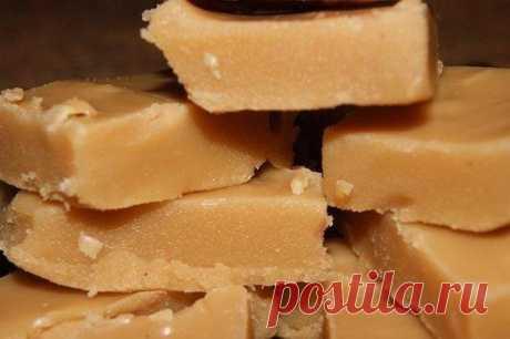 Вкусные домашние конфеты «Коровка».