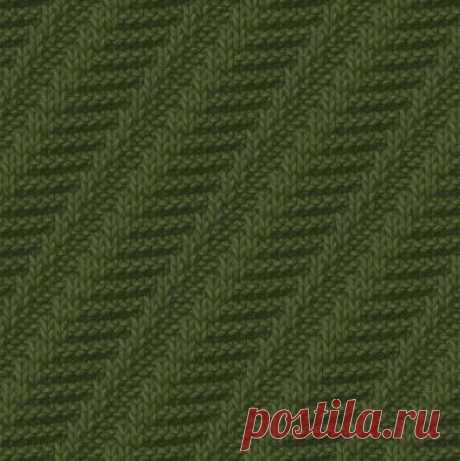 Теневые узоры вязания спицами