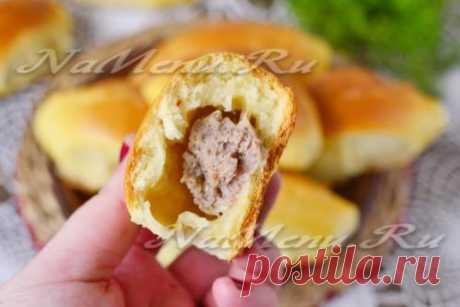 Пирожки с мясом в духовке, пошаговый рецепт с фото