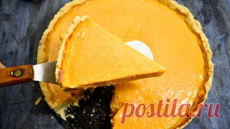 Американский Тыквенный пирог 🥧Я просто влюбилась Вв этот пирог, его вкус божественный. | Готовим с Екатериной Койдой | Яндекс Дзен