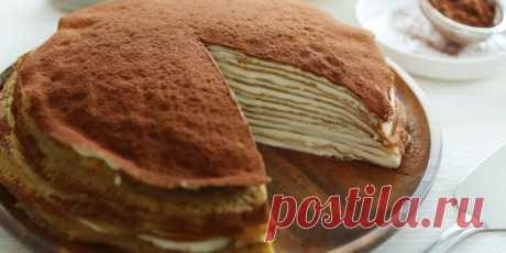 10 удивительно вкусных блинных тортов