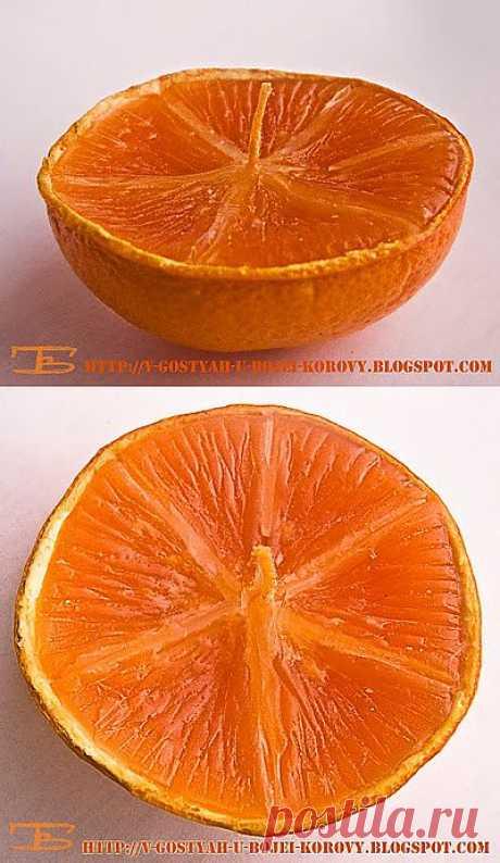 Апельсиновое тепло огня: делаем сами свечи (мастер-класс)