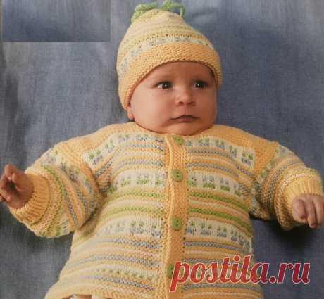 Весенняя полянка — возраст 2-4 месяца | Рукоделие от uzelok.su | Яндекс Дзен