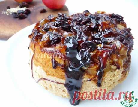 Яблочный пирог, запеченный в кастрюле – кулинарный рецепт