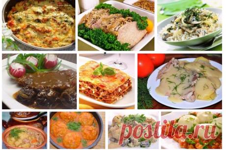 Десять рецептов мясных блюд