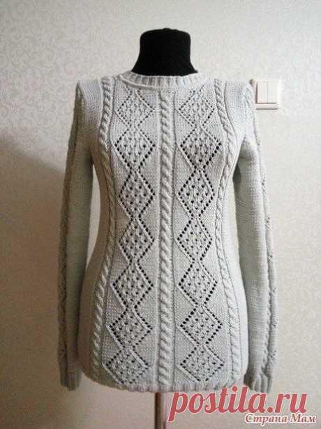 Узор спицами для джемпера/пуловера/свитера