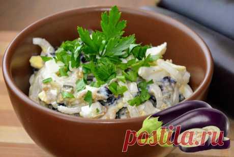 Cалат из баклажанов, лука и яиц | MaryanaTastyFood | Вкусная Еда | Яндекс Дзен