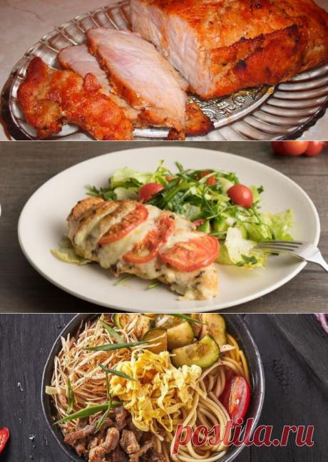 Блюда из куриной грудки – супы, купаты, рулет, ромштекс, пастрома, суфле и др...