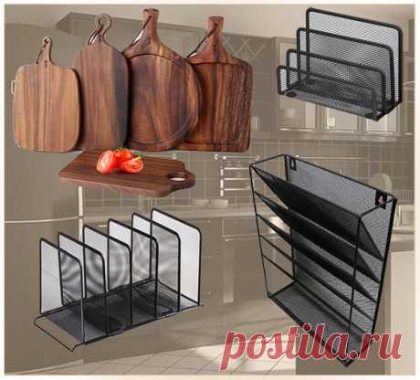 Необычное применение на кухне офисных органайзеров — Идеи домашнего мастера