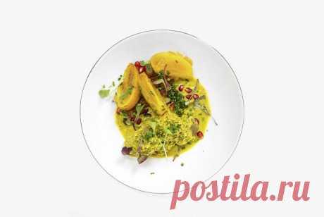 Сациви с курагой и хурмой, пошаговый рецепт с фотографиями – грузинская кухня: основные блюда. «Еда»