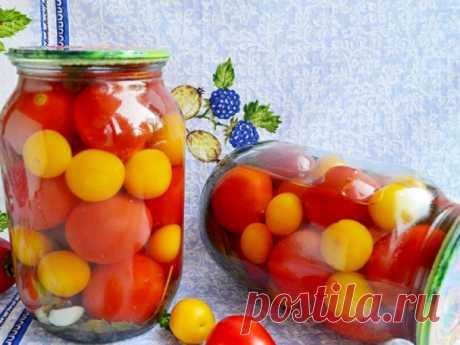 Рецепты консервации томатов с алычей Иногда получается очень удачно совместить фрукты и овощи и получить отличный результат. Очень вкусными получаются томаты, если мариновать их одновременно с алычой. 6 1.Маринованные помидоры с алычой Для того, чтобы заготовка получилась идеальной не только по вкусу, но и имела...