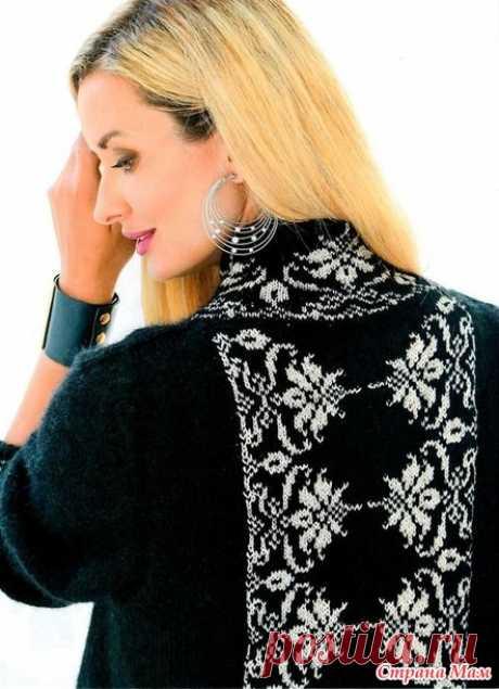 Пальто спицами - Вязание - Страна Мам