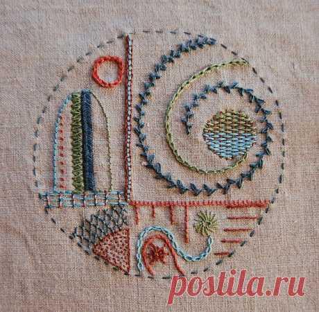 Арт-текстиль: круги и травы - Притворяйтесь, пока не начнет получаться — LiveJournal