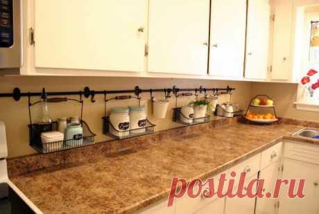 18 копеечных систем хранения, которые помогут навести порядок на кухне и расставить все по полочкам