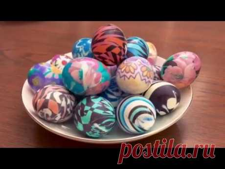 We paint eggs by Easter! Simply, quickly and originally.