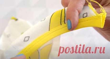 Окантовка трикотажной бейкой. Самый понятный способ (Шитье и крой) – Журнал Вдохновение Рукодельницы
