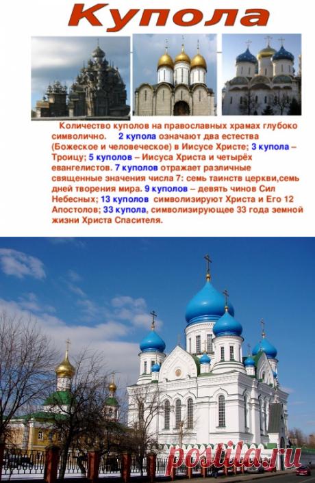 Что означают купола православных церквей...