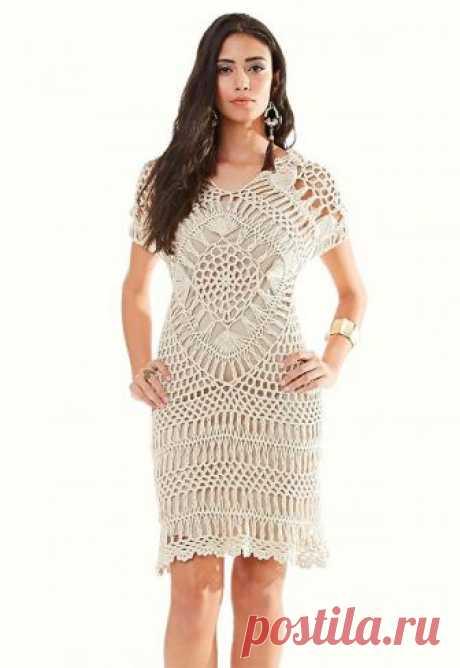 2cff6279a Receita Vestido Charme Crochê de Grampo - Blog do Bazar Horizonte - Maior  Armarinho Virtual do