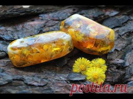 Мыловарение•Янтарь - мыльный камень