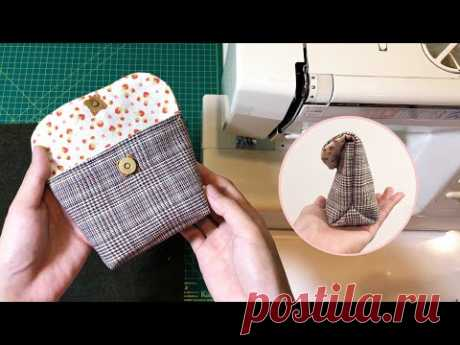 Easy and beautiful DIY sewing products for beginners | Sewing tips and tricks | DIY button pouch - YouTube