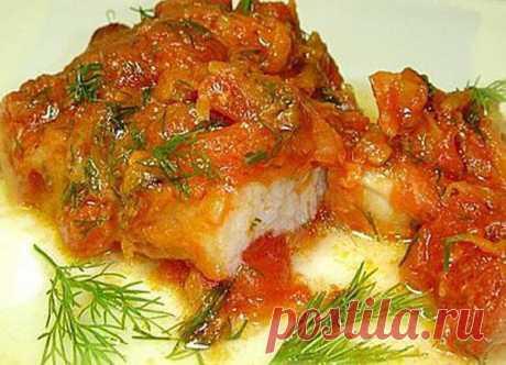 Вкусная рыбка по-гречески
