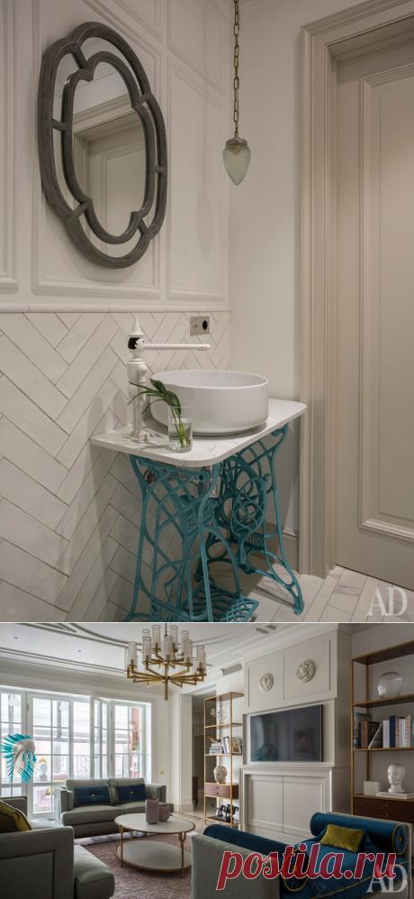 Дизайн в светлых тонах: фото квартиры с советским стилем в интерьере | AD Magazine