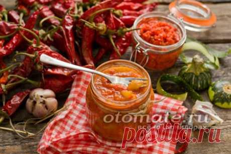 Кабачки в аджике по-тбилисски, рецепт с фото