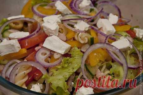 Итальянский салат.