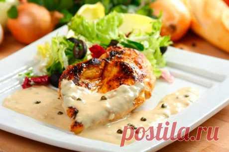 Быстрый и простой соус к мясу – пошаговый рецепт с фото.