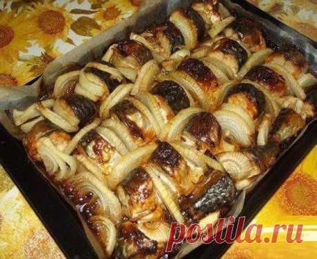Скумбрия, запеченная в духовке - 5 рецептов - Бабушкины секреты