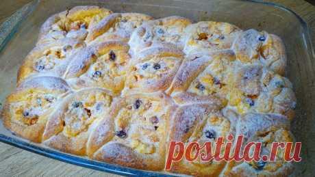 Пуховые пирожки с потрясающей начинкой