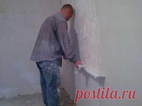 Как оштукатурить стены любой комнаты всего за 5 часов