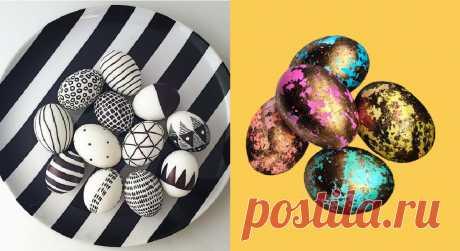 11+ идей к Пасхе для тех, кто не хочет красить яйца луковой шелухой
