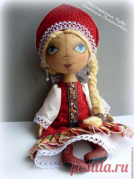 Как сшить куклу в русском стиле (выкройки, мастер-класс) — Рукоделие