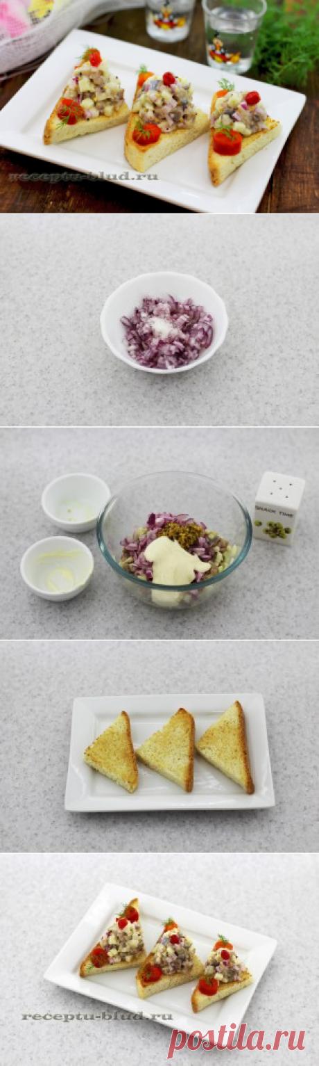 El fiambre del arenque - la receta