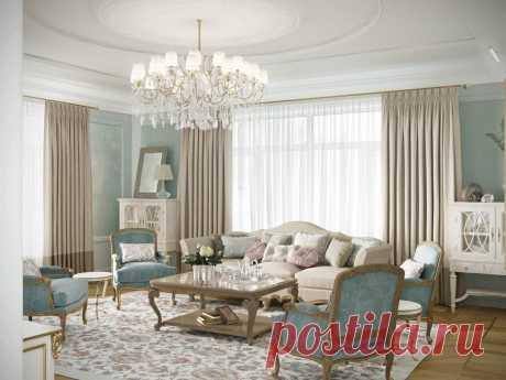 Двухэтажный дом с интерьерами как в лучших романах Пушкина – Roomble.com
