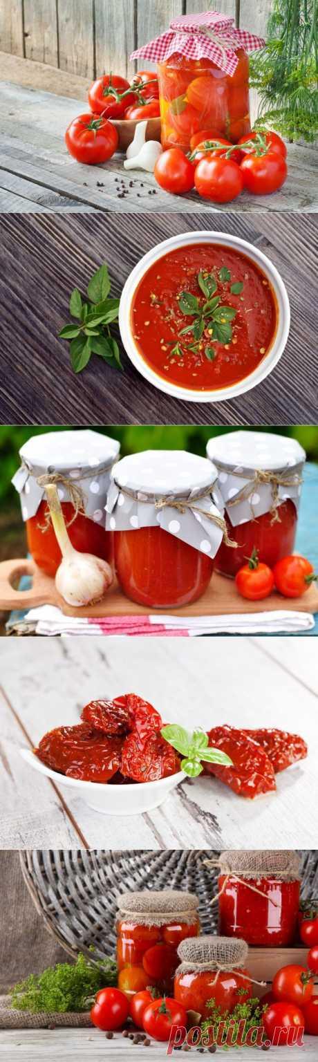 Несколько рецептов из томатов