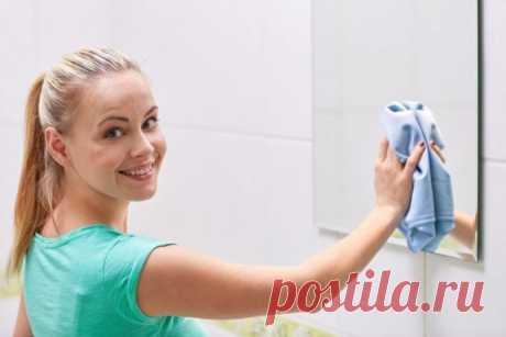 Как вымыть зеркало без покупки дорогостоящих средств