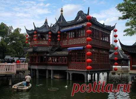 Парк Юйюань – сад Радости в Шанхае — Путешествия