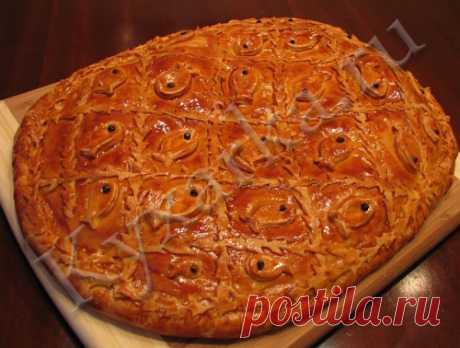 Сибирский пирог с рыбой – Kyxarka.ru