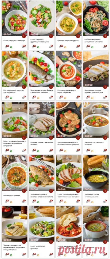 30 рецептов легких блюд для посленовогодней разгрузки