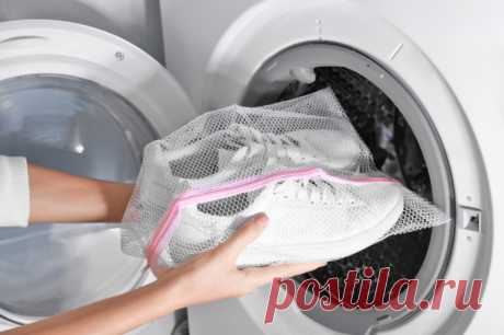 Как без ошибок постирать обувь в машинке-автомат, чтобы она не разлезлась по швам — Лайфхаки