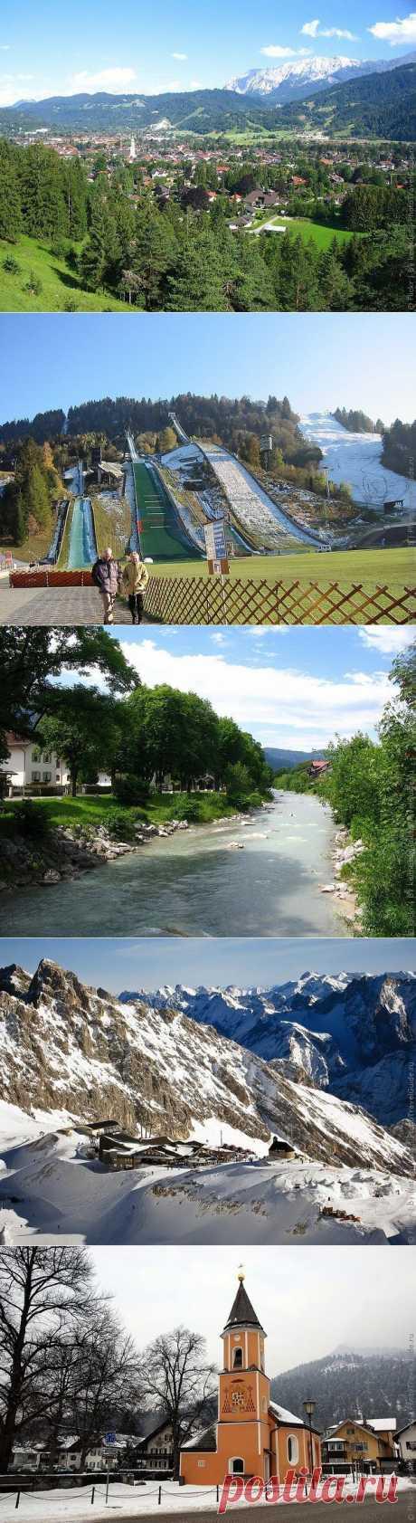 Гармиш-Партенкирхен фото и достопримечательности курорта