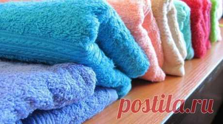 Как сделать махровые полотенца мягче фото 972