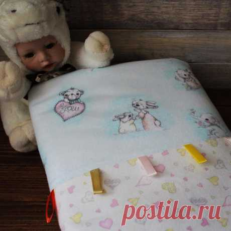 Мимишное тёплое #одеяло для Вашего малыша 👶🏼, размер 80*100 см.